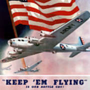 Army Air Corps Recruiting Poster Poster