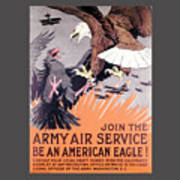 Army Air Service Poster
