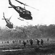 Army Airborne In Vietnam Poster
