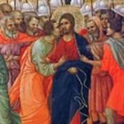 Arrest Of Christ Fragment 1311 Poster