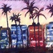 Art Deco Miami Poster