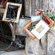 Art Gallery Bike Poster