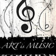 Art Is Music-music In Motion Poster
