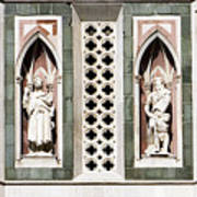 Art On Duomo In Florence Italy Poster