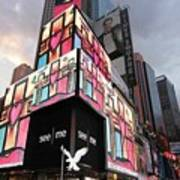 Art Takes Times Square Poster