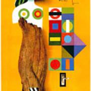 Art Today - London Underground, London Metro - Retro Travel Poster - Vintage Poster Poster