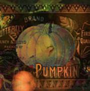 Artful Pumpkins Poster