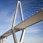 Arthur Ravenel Jr. Bridge In Charleston South Carolina Poster