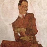 Arthur Roessler Poster by Egon Schiele