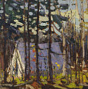 Artist's Camp, Canoe Lake, Algonquin Park Poster