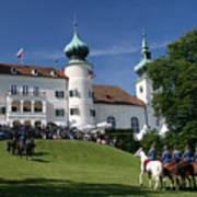 Artstetten Castle In June Poster