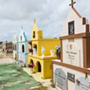 Aruba Cemetery Poster