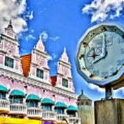 Aruba Time Poster