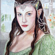 Arwen Poster by Mamie Greenfield