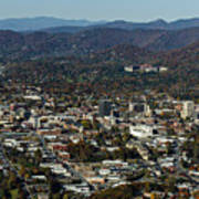 Asheville, City, Downtown, Nc, North Carolina, Mountains, Mountains, Real Estate, Blue Ridge Mountai Poster