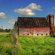 Ashtabula County Barn Poster