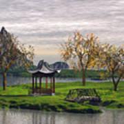 Asian Landscape Poster