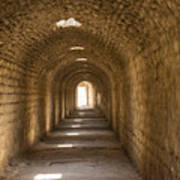 Asklepios Temple Passageway Poster