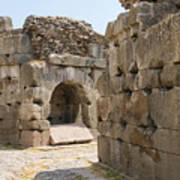 Asklepios Temple Ruins Poster
