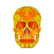 Aspen Leaf Skull 13 Poster