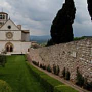 Assisi Church Poster