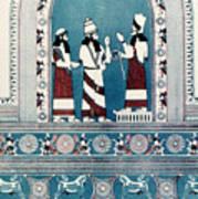 Assyrian King, C720 B.c Poster
