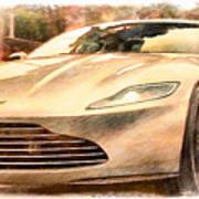 Aston Martin Db10 Poster