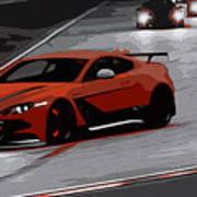Aston Martin Vantage Gt12 Poster