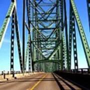 Astoria-megler Bridge Poster