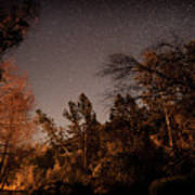 Astrophotography - Sequoia Rv Ranch - California Poster