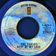 asylum Records and the Eagles Poster