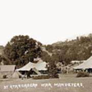At Atascadero War Manuevers Circa 1915 Poster