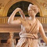 Athena Statue Poster