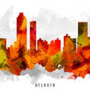 Atlanta Georgia Cityscape 15 Poster