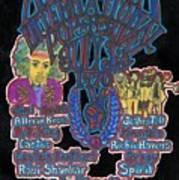 Atlanta International Pop Festival Poster by David Sutter