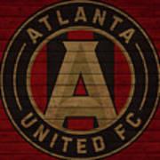Atlanta United Barn Door Poster