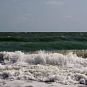 Atlantic - Beach - Waves Poster