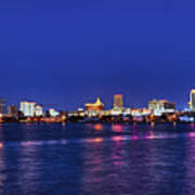 Atlantic City Skyline. Poster