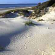 Atlantic Ocean Sand Dunes Poster
