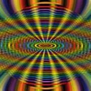 Atomic Rainbow Poster