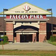 Auburn, Ny - Falcon Park Poster