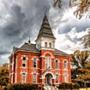Auburn University - Hargis Hall Poster
