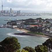 New Zealand - Picturesque Devonport Beach Poster