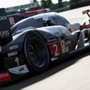 Audi R18 E-tron, Le Mans - 09 Poster