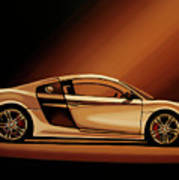 Audi R8 2007 Painting Poster