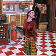 Audrey Horne Twin Peaks Resident Poster