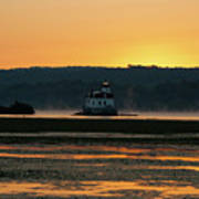 August Dawn At Esopus Light II Poster
