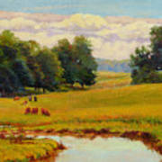 August Pastoral Poster
