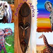 Auras Of Africa Poster