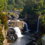 Ausable Falls Poster